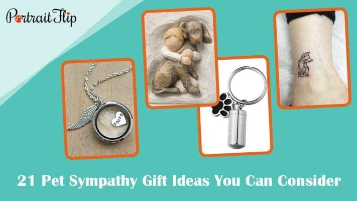 17 pet sympathy gift ideas you can conside