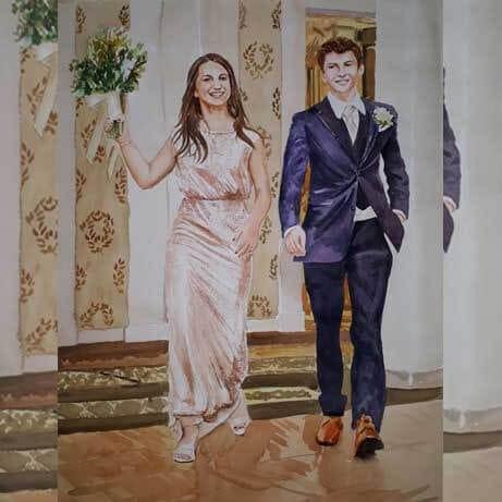 Wedding Painting Gift