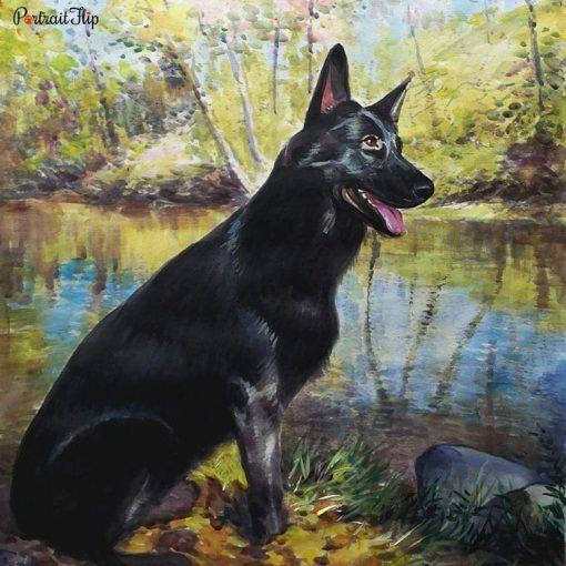 Pet Watercolor Portraits