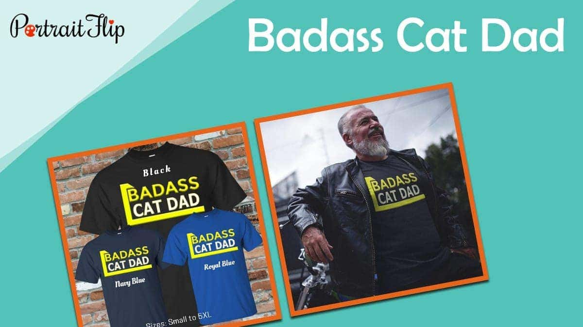 Badass cat dad