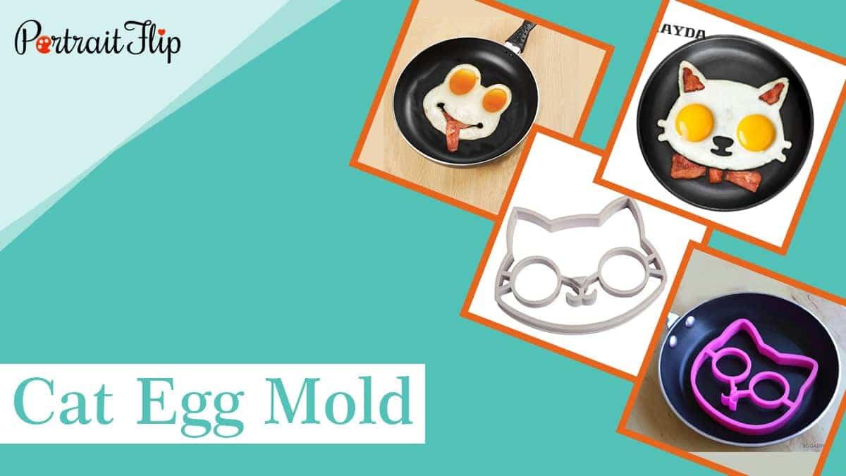 Cat egg mold