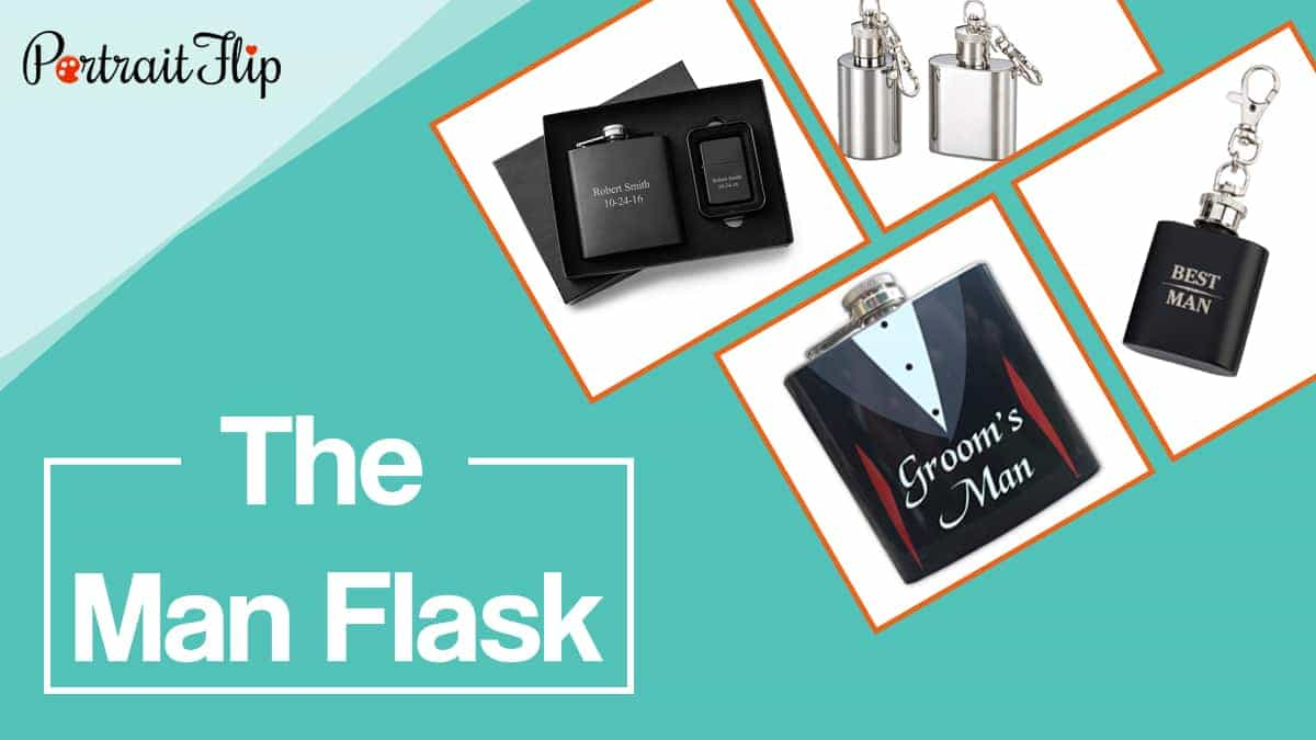 The man flask