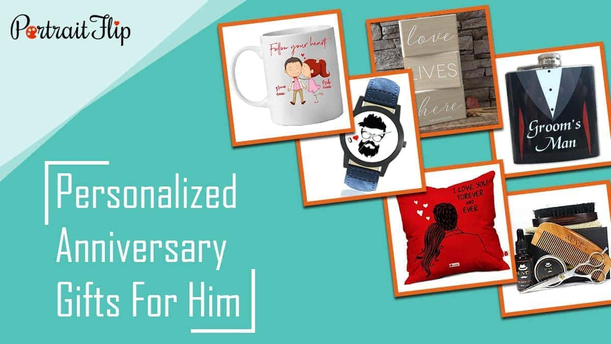 45 personalized anniversary gifts for him