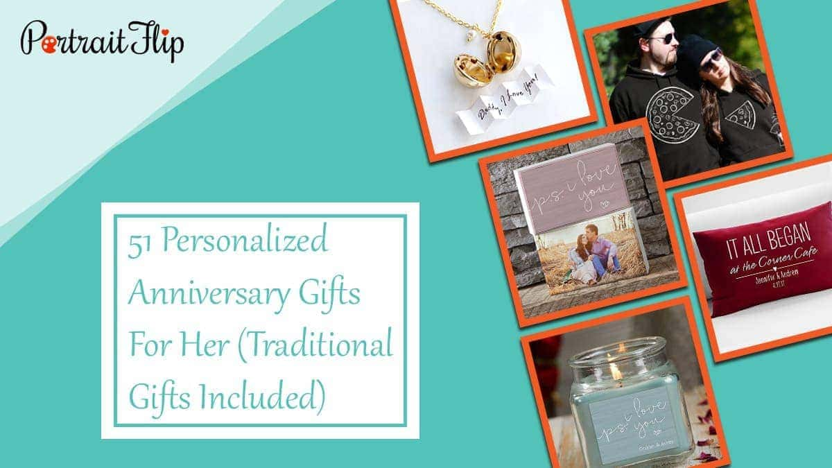 51 personalized anniversary gifts for her (traditional gifts included)