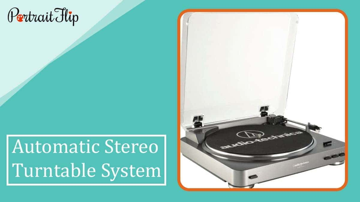 Automatic stereo turntable system