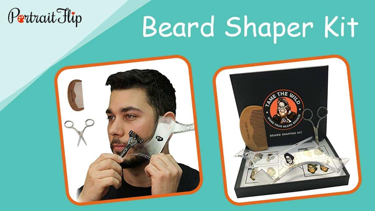 Beard shaper kit