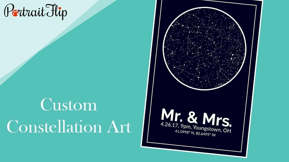 Custom constellation art