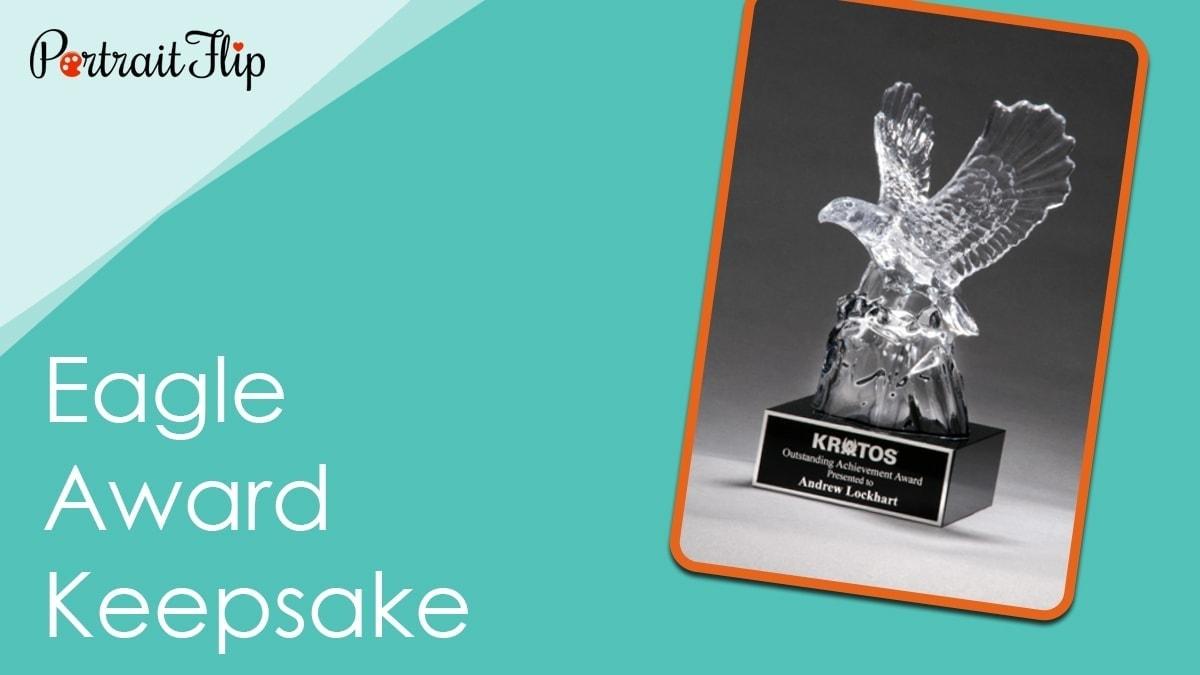 Eagle award keepsake