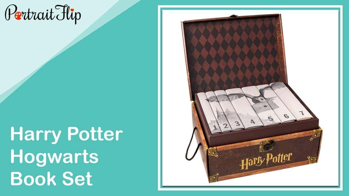 Harry potter hogwarts book set