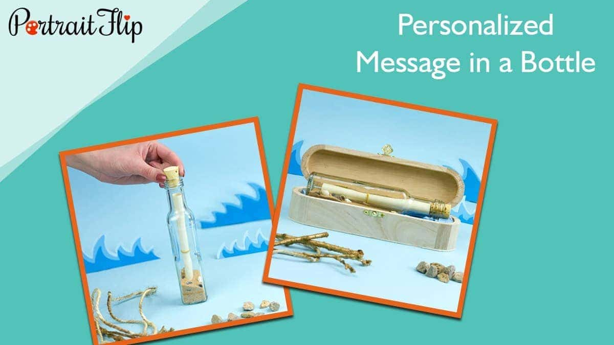 Personalized message in a bottle 1
