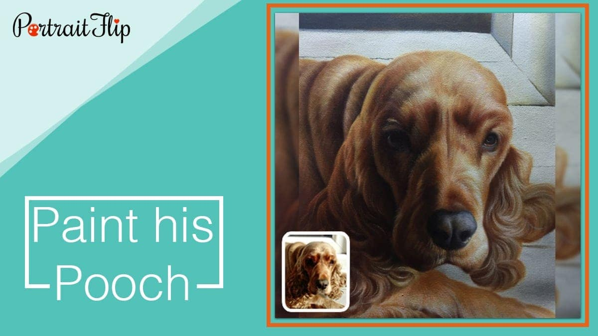 Paint his pooch
