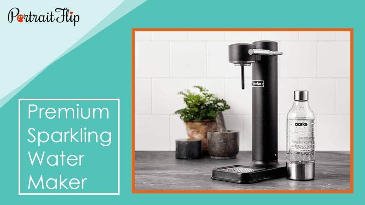 Premium sparkling water maker