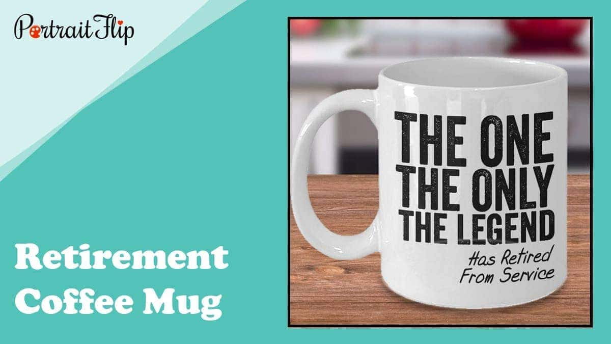 Retirement coffee mug