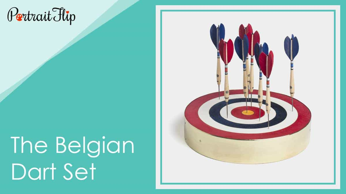 The belgian dart set