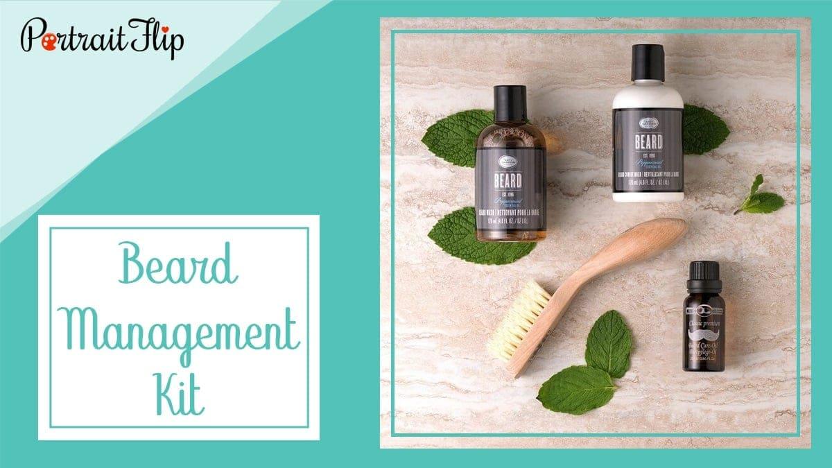 Beard management kit