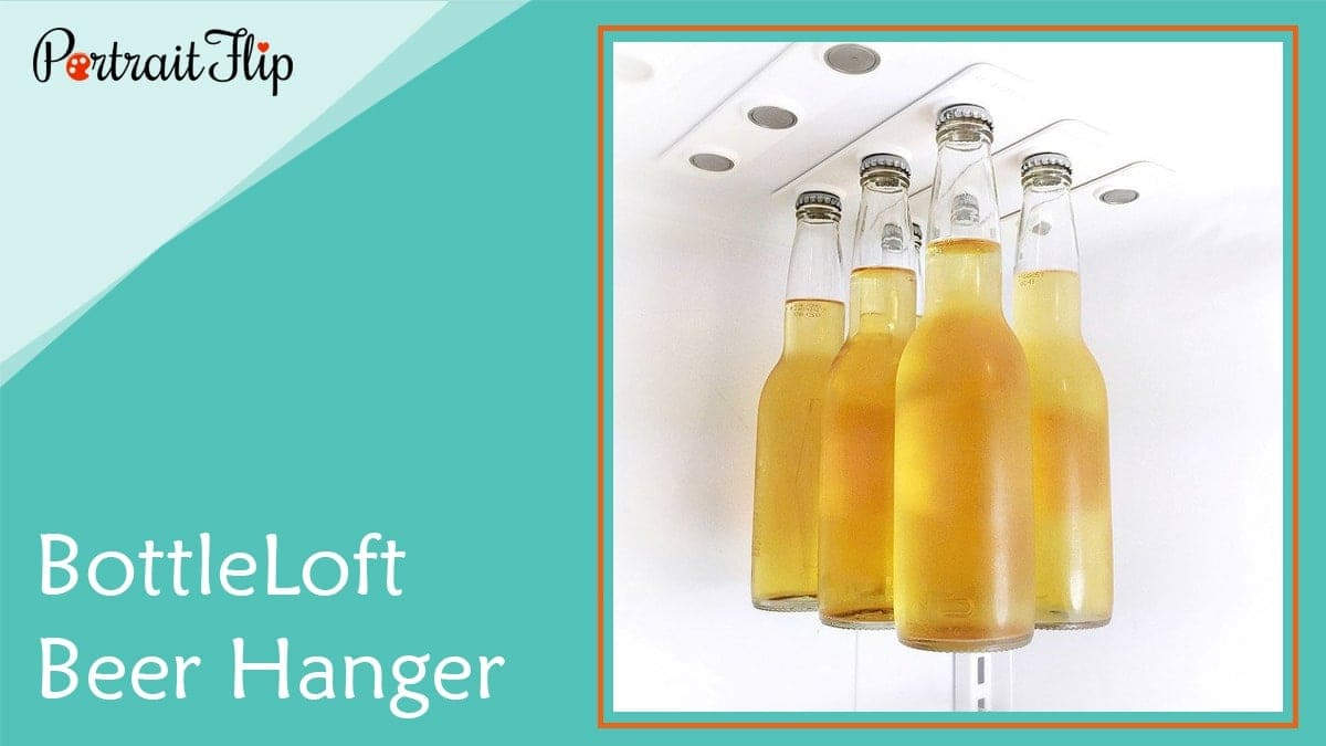 Bottleloft beer hanger