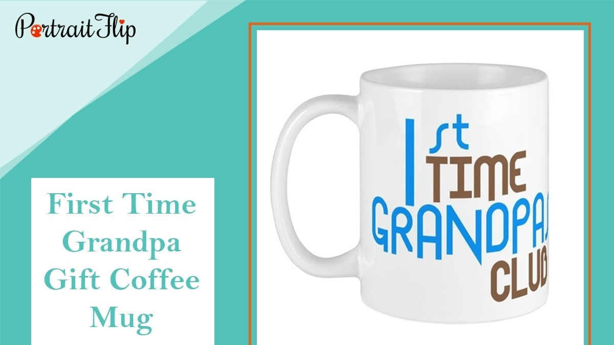 First time grandpa gift – coffee mug