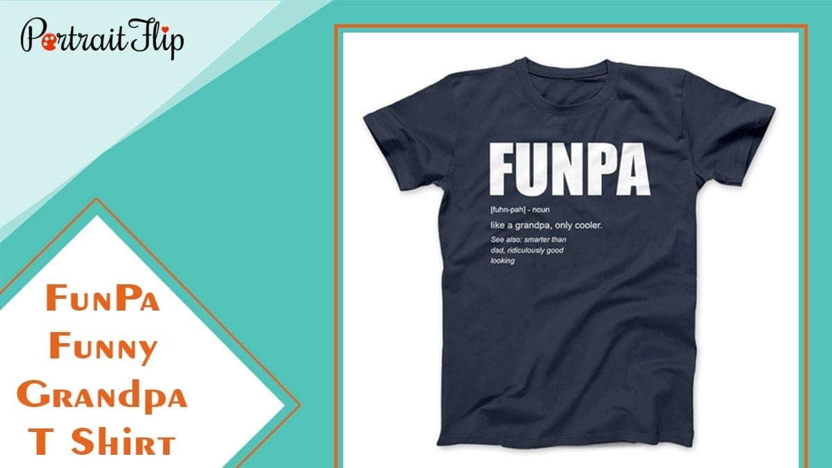 Funpa funny grandpa t shirt