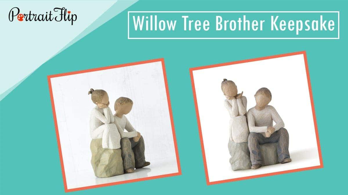 Willow tree brother keepsake