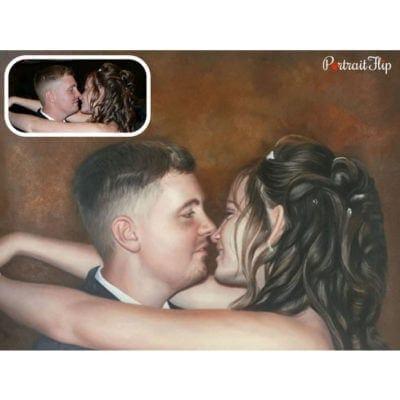 Acrylic portraits