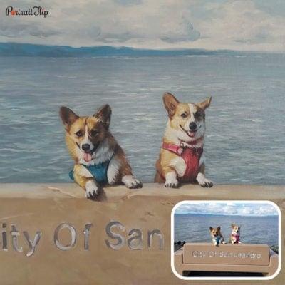 Pet oil portrait from photo (5)