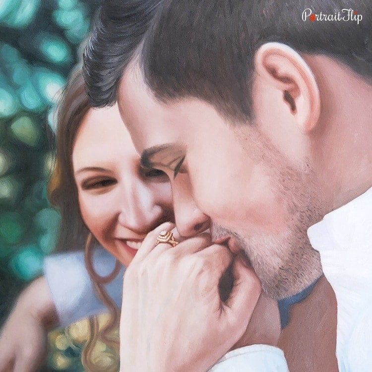 Couple Oil Portraits