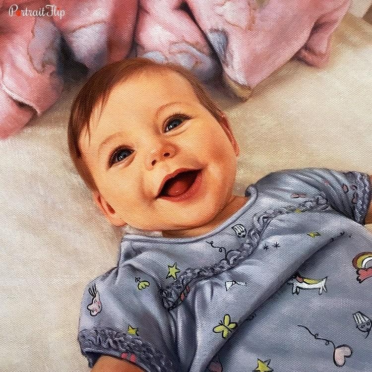 Baby Oil Portraits