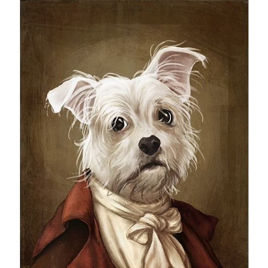 Royal pet portrait