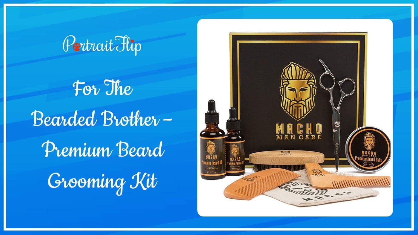 Premium Beard Grooming Kit
