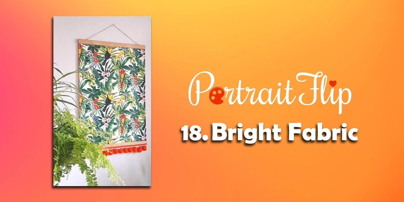 bright fabric