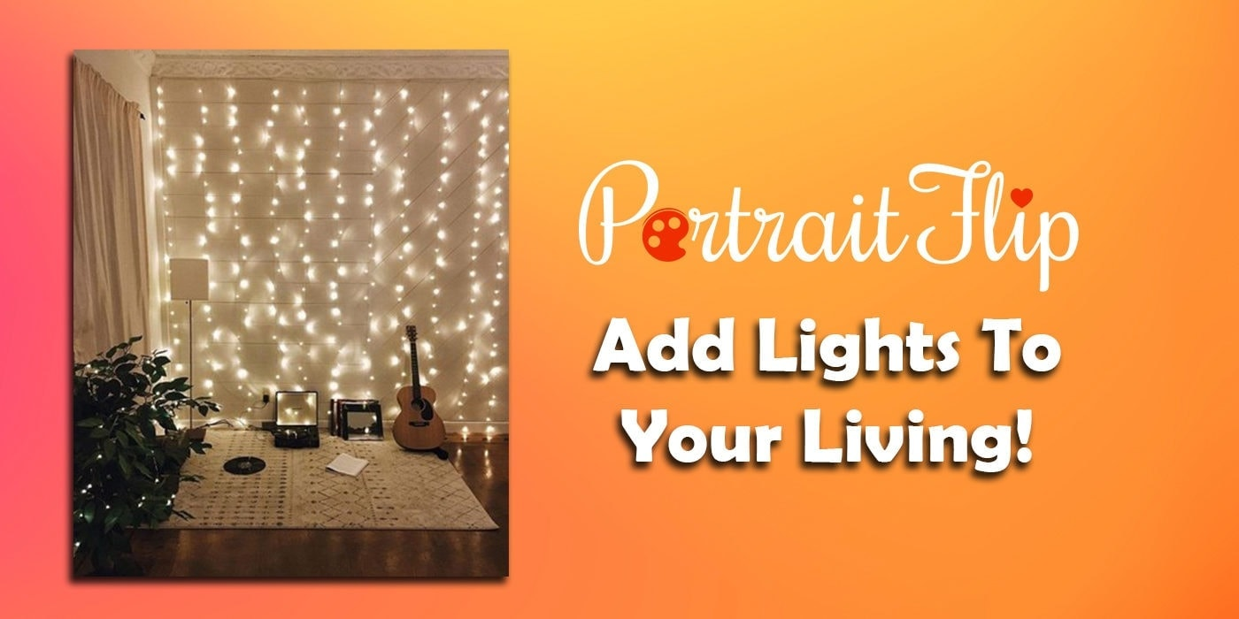 add lights to your living
