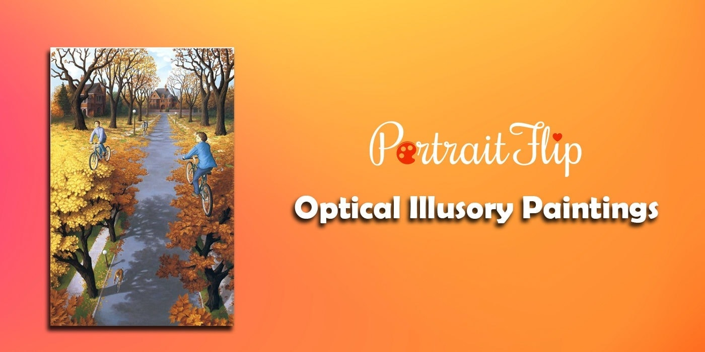optical illusory paintings