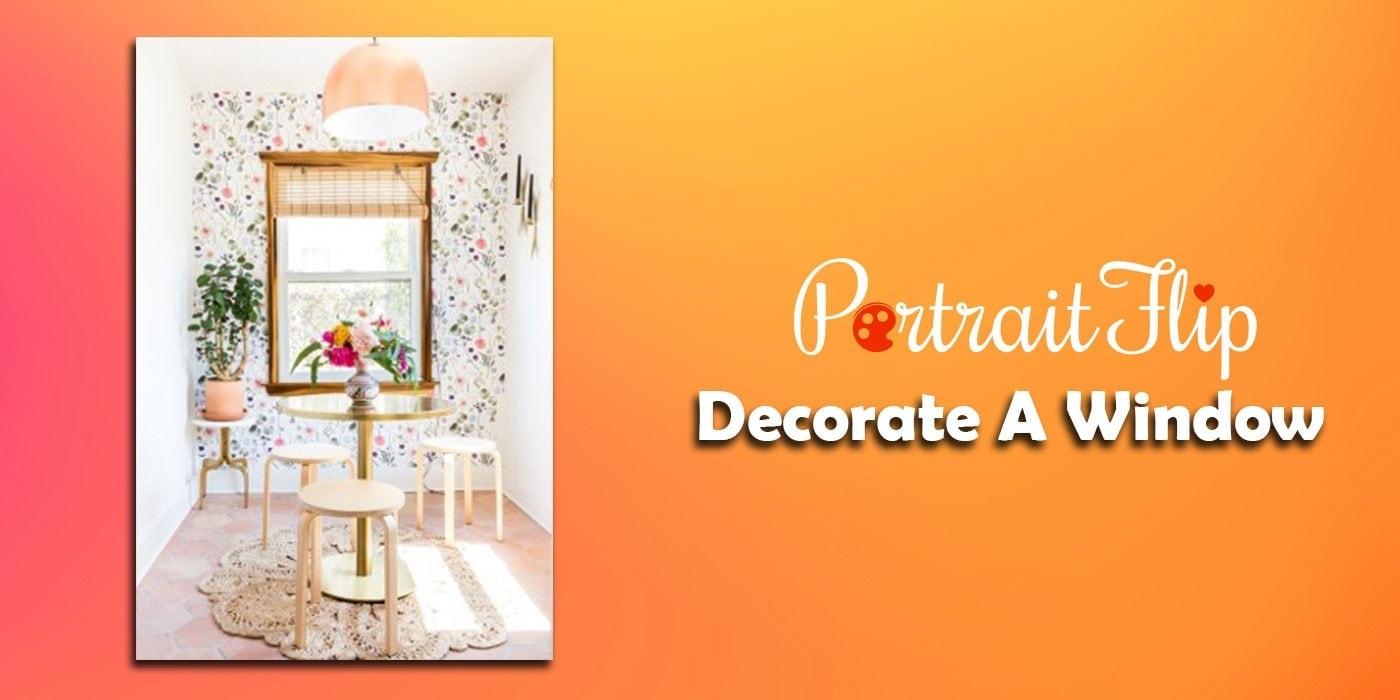 decorate a window