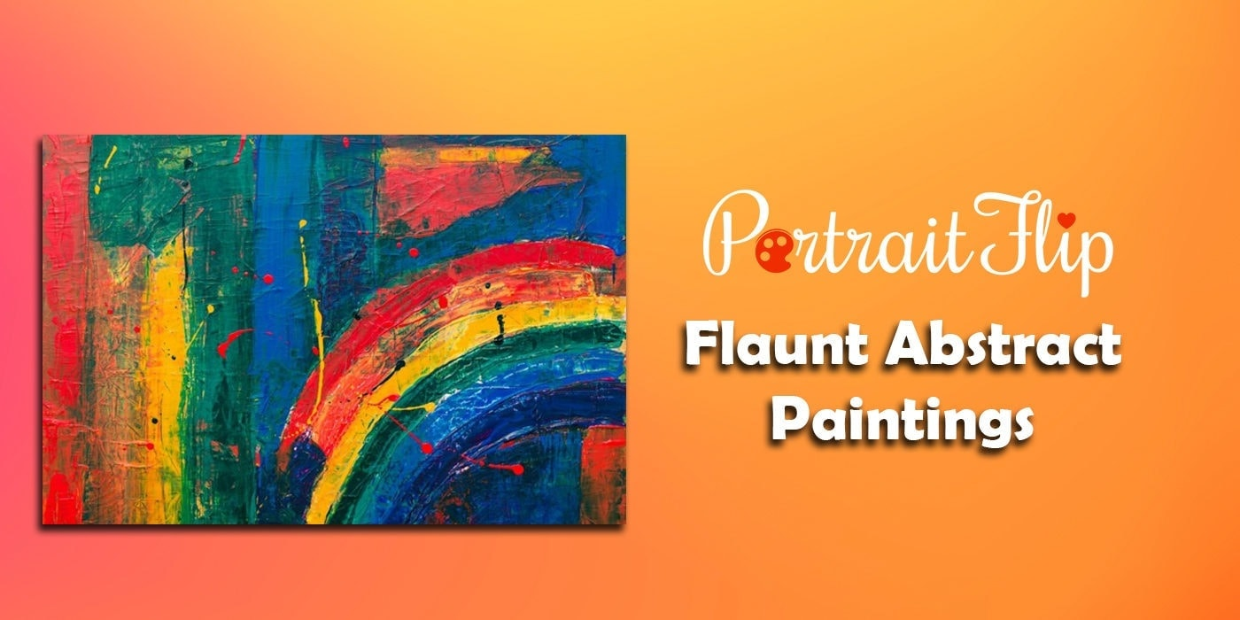 flaunt abstract paintings