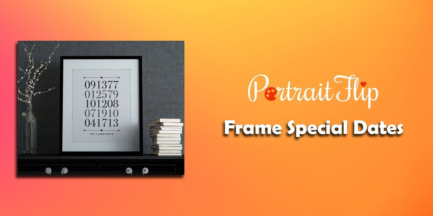 frame special dates