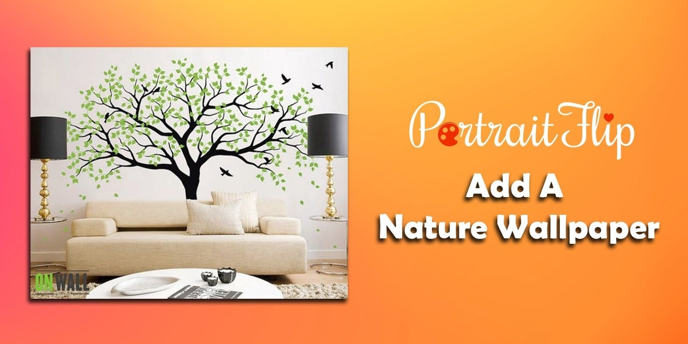 add a nature wallpaper