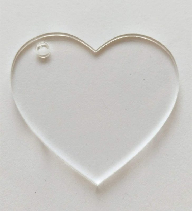 Acrylic heart