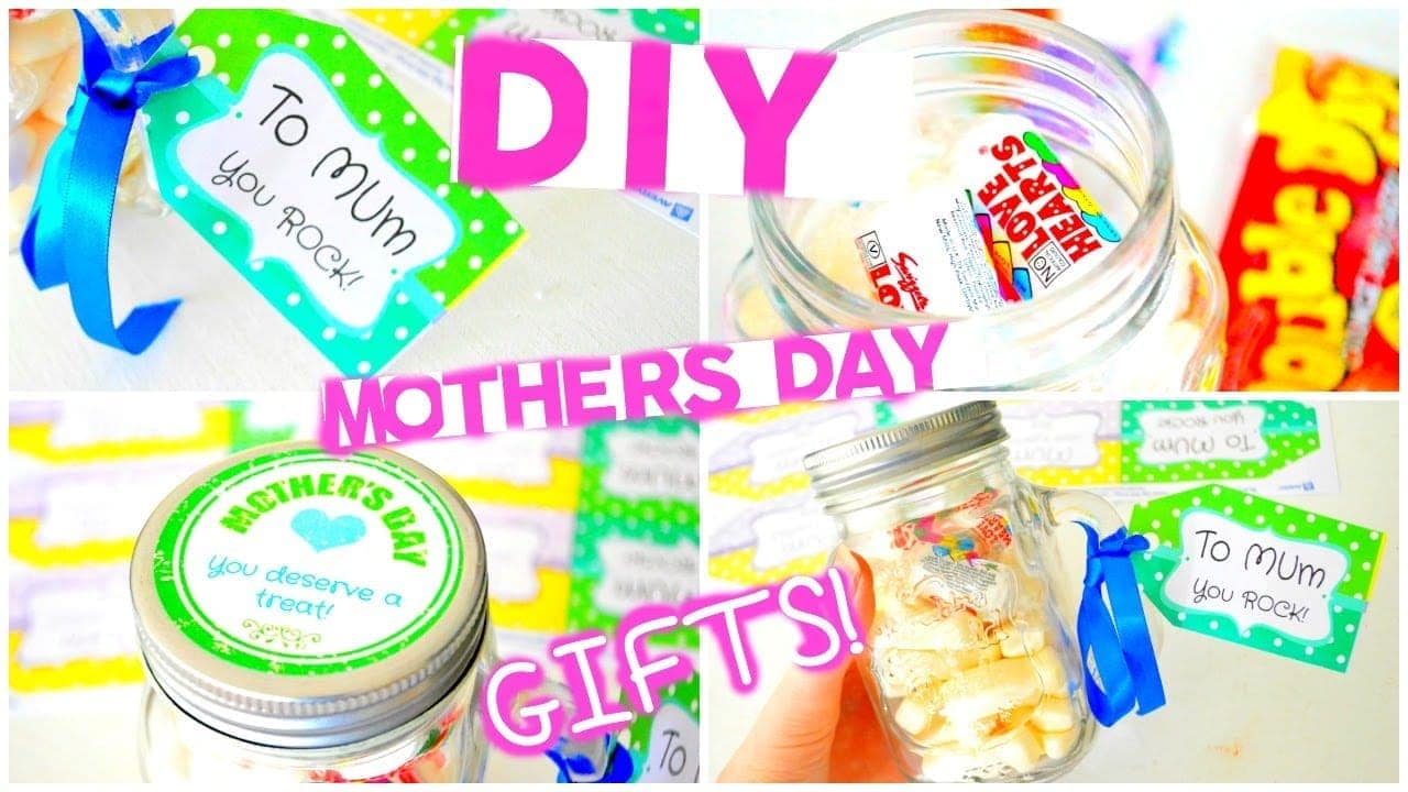 Diy gifts for mother's day