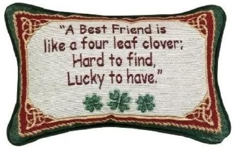 Decorative irish throw pillow