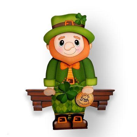 Leprechaun 3d card