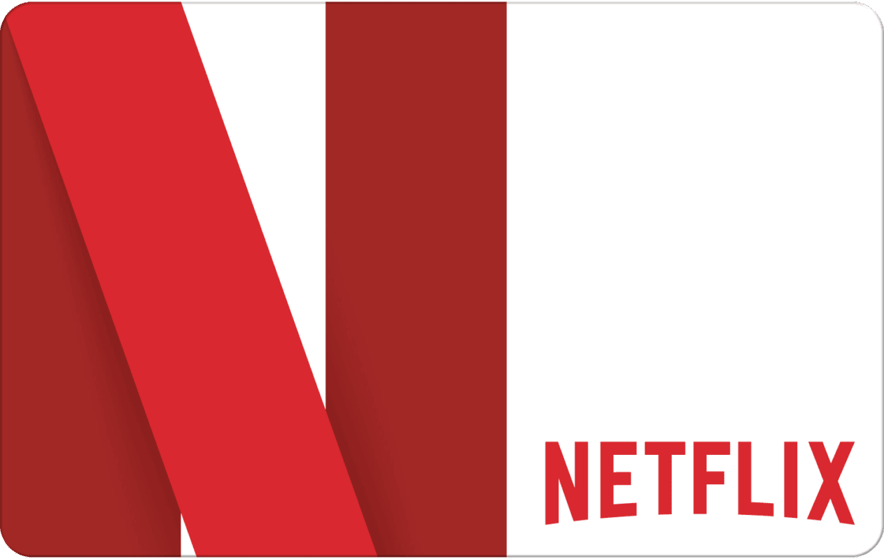Netflix subscription gift card