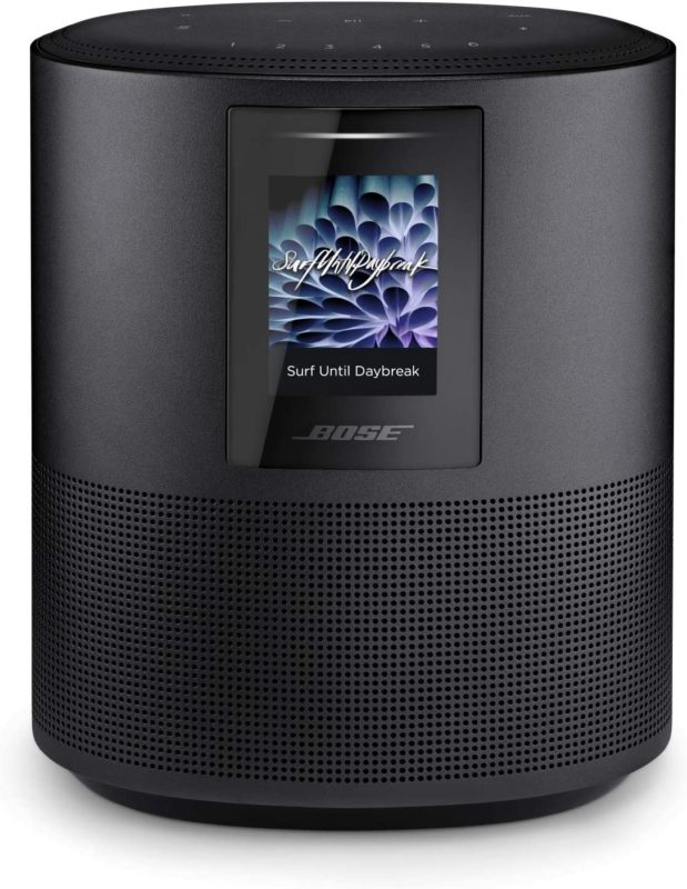 Bose home speaker with alexa