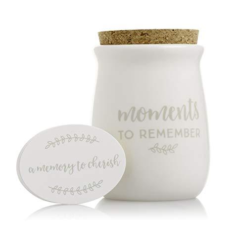 Ceramic gratitude jar