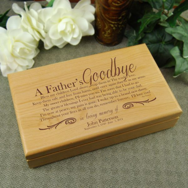Memorial gifts for loss of father
