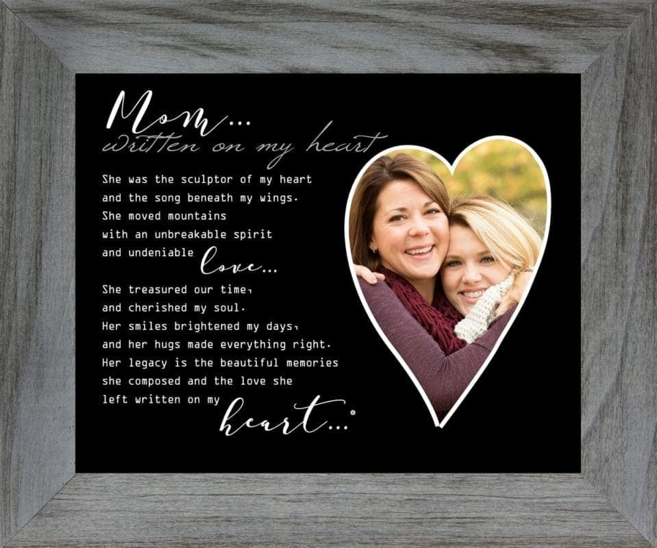 Memorial gifts for loss of mother