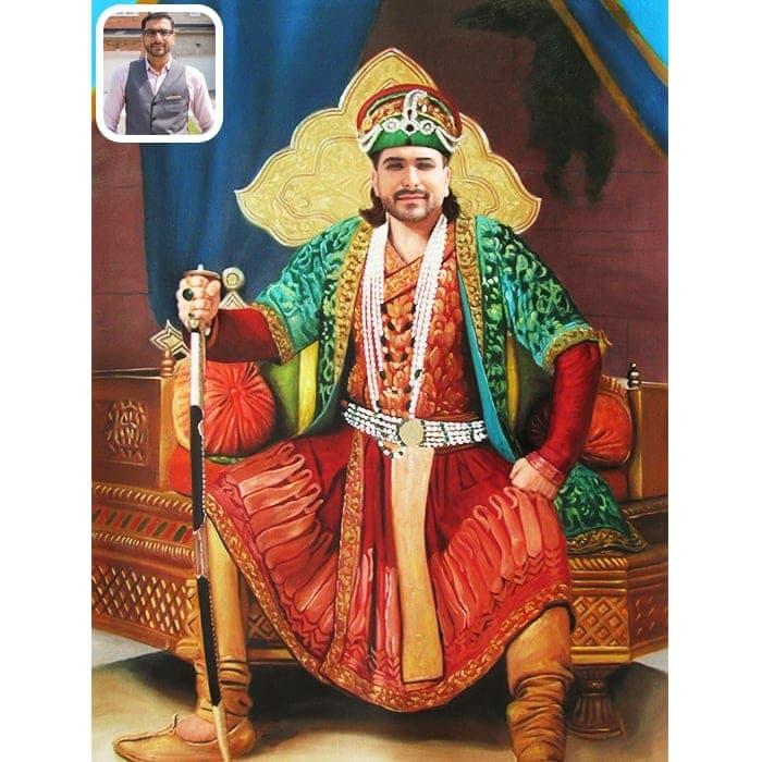 king royal portrait