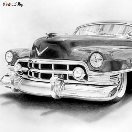 Vehicle Charcoal Portraits