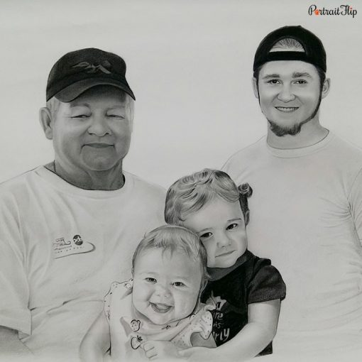 Bad Photos To Pencil Portraits