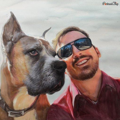 People & Pet Watercolor Portraits