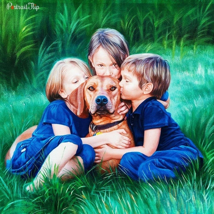 People & Pet Oil Portraits